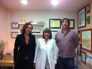 Dra Bayés Andrea i Joan la Teknon 2