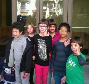 Síndrome de Wiliams Visita al Gran Teatre del Liceu amb Institut Català de Musicoteràpia 2-4-2013