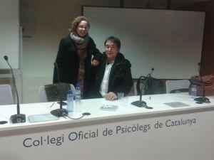 Andrea Valverde i Joan Capafons Grup de treball de Musicoteràpia Col.legi Oficial de Psicòlegs de Catalunya