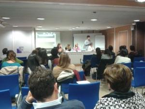 Acte de presentació Grup de Treball Musicoteràpia Col.legi Oficial de Psicòlegs de Catalunya