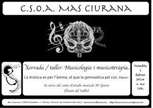 Xerrada taller Hostalrich Musicoteràpia CEM María Grever