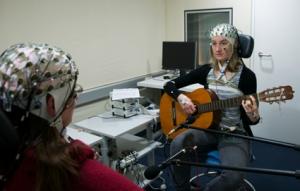Duet de guitarristes a l'Institut Max Planck